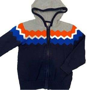 Gymboree Knit Hooded Zip Sweater!  Sz 3T